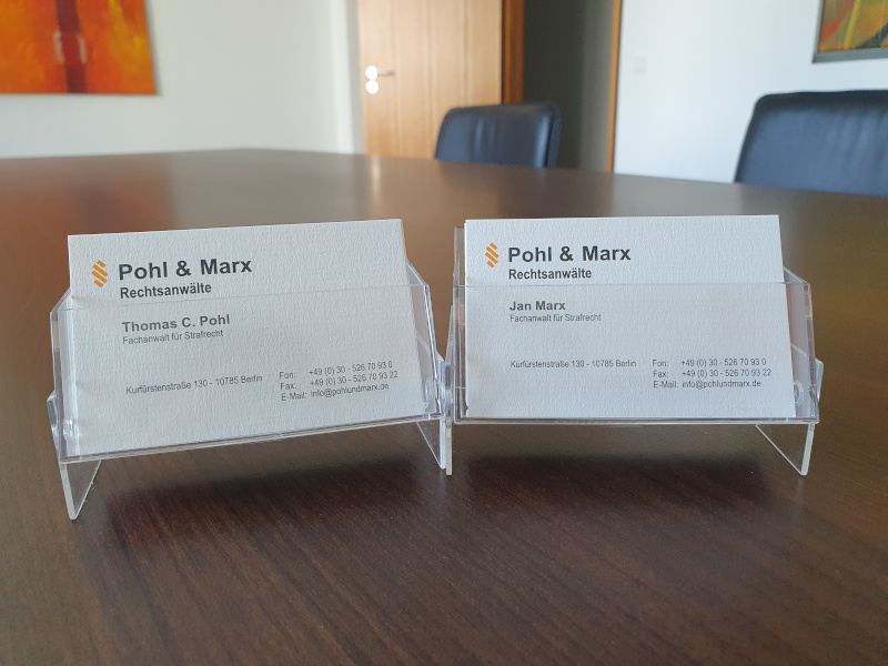 Rechtsanwälte Pohl und Marx, Verteidiger bei Kinderpornobesitz